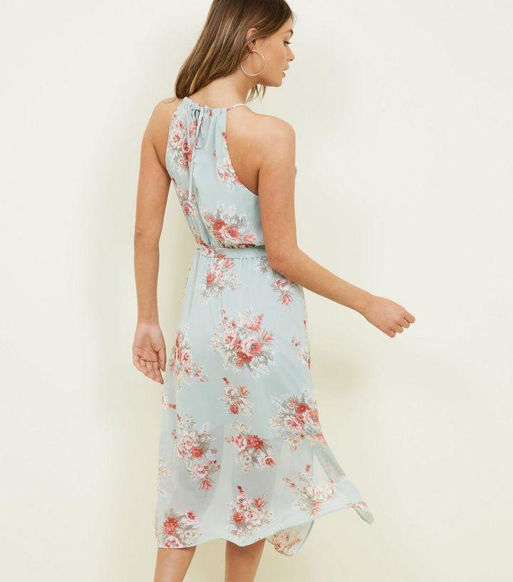 82e8202cf500 ... Mint Green Floral High Neck Midi Dress. ×. ×. ×. Shop the look