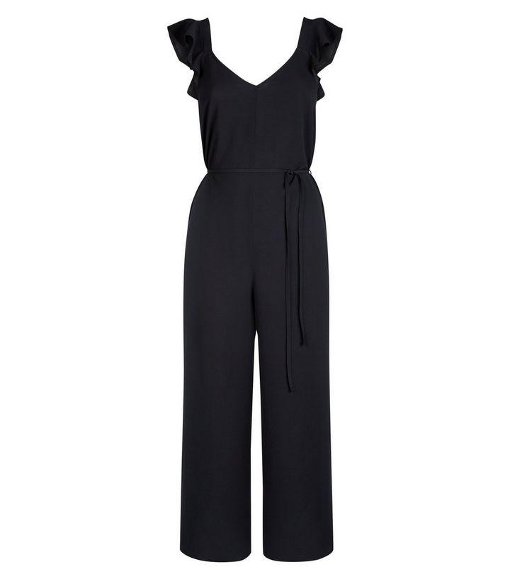 42f07d9faf ... Black Ruffle Strap Jumpsuit. ×. ×. ×. Shop the look