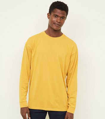Yellow Cuffed Long Sleeve T-Shirt