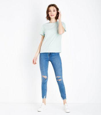 Mint Green Short Sleeve T-Shirt New Look