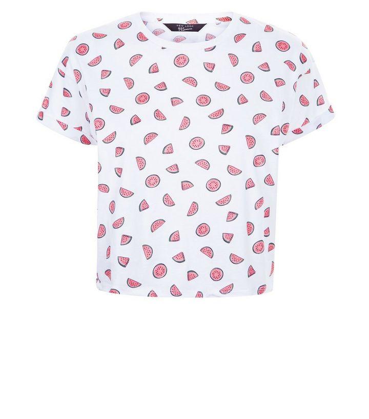 3f68611b ... Teens White Watermelon Print T-Shirt. ×. ×. ×. Shop the look