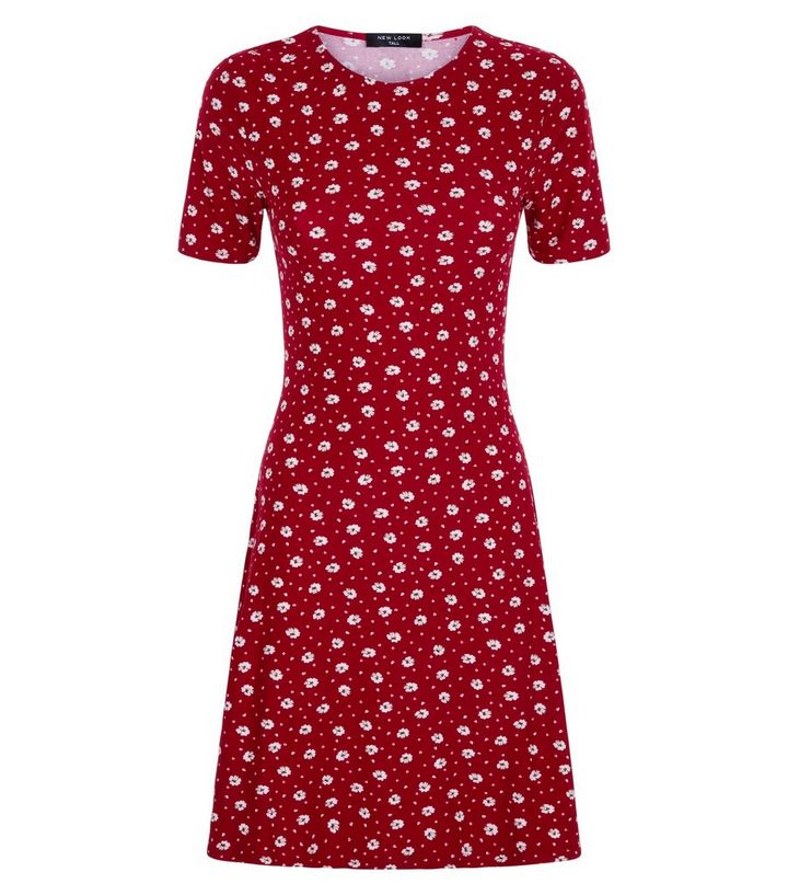 ... Tall Red Ditsy Floral Soft Touch Skater Dress. ×. ×. ×. Shop the look ba9cb82e7