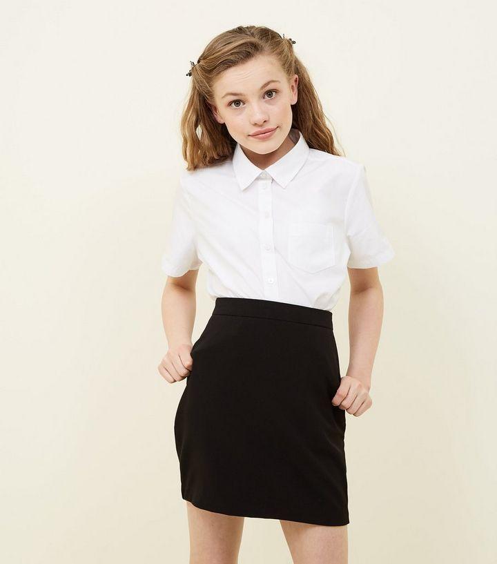 19c923851e Girls Black Elasticated Waist Skirt | New Look