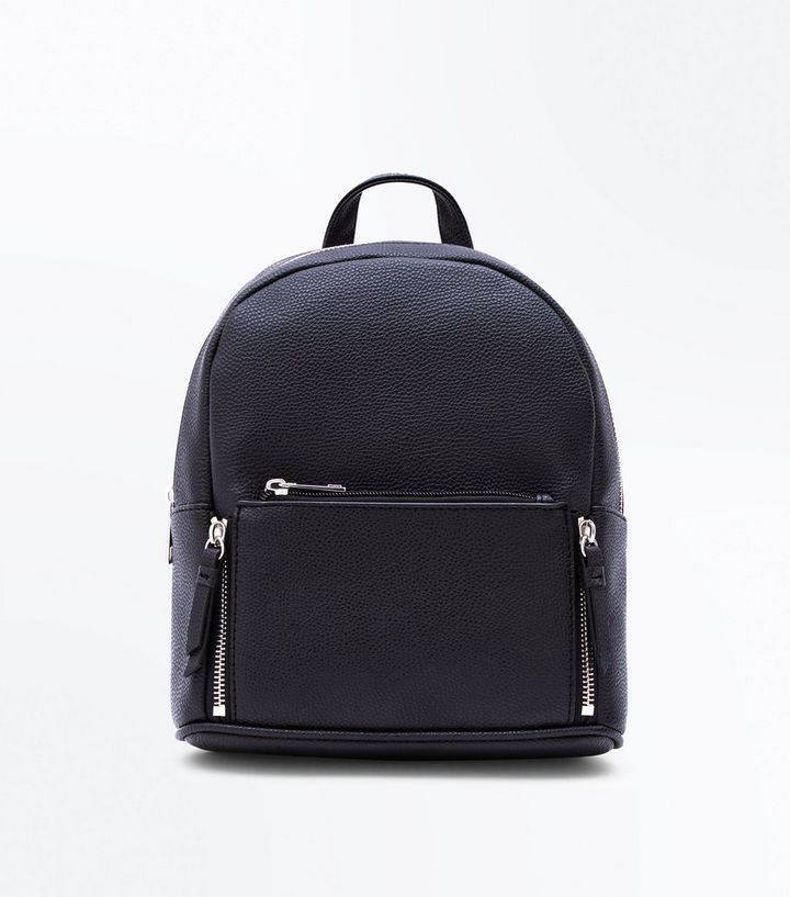 2019 hot sale great discount for choose newest Black Zip Top Curved Mini Backpack Add to Saved Items Remove from Saved  Items