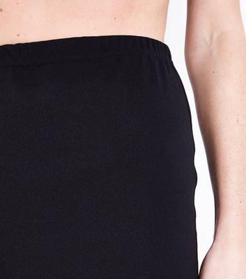 Pink Vanilla Black Frill Hem Skirt New Look