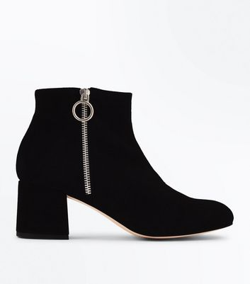 Chaussures Cuir Daim Femme Boots Sandales New Look