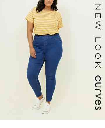 0f31bc5a734543 Womens Plus Size Jeans | Curves Jeans | New Look