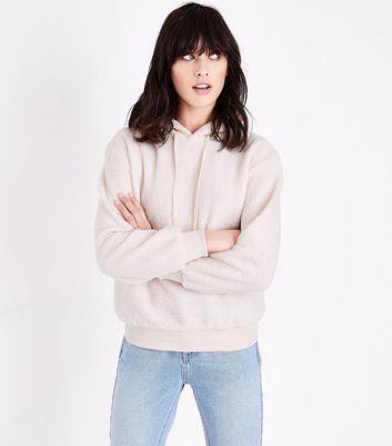 New Look Womens Teddy Hoody Sweatshirt