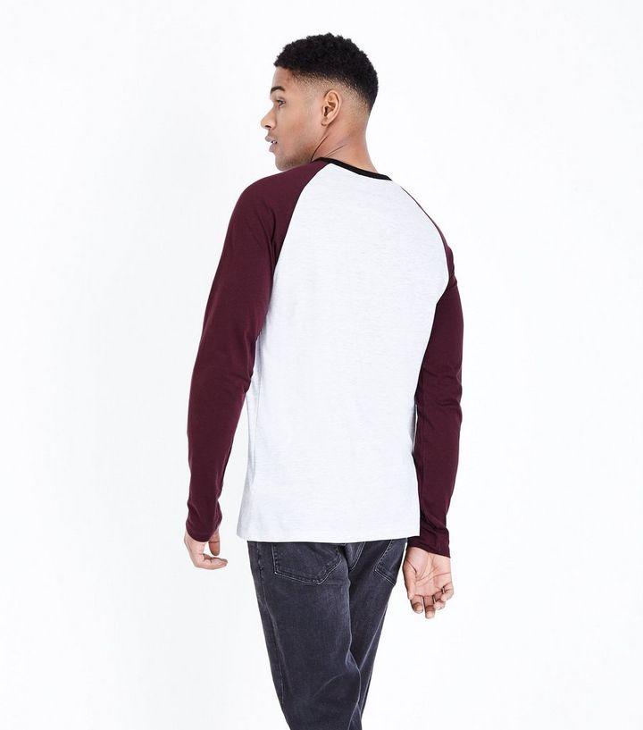 6f27e6d6 ... Burgundy Brklyn Printed Raglan Sleeve T-Shirt. ×. ×. ×. Shop the look