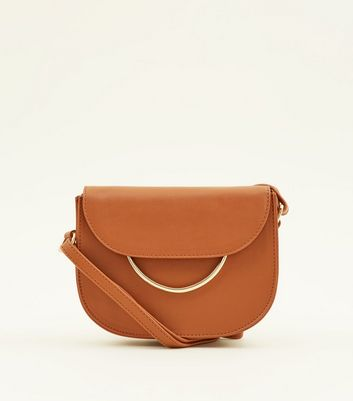 tan-ring-front-cross-body-bag by new-look