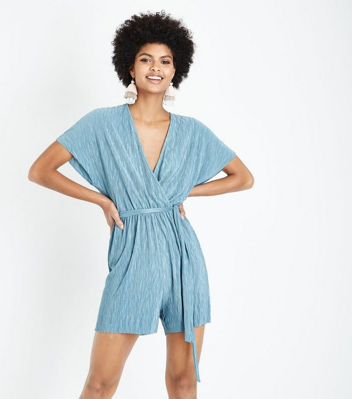 get new high quality fine quality Tall Mint Green Belted Plisse Playsuit Add to Saved Items Remove from Saved  Items