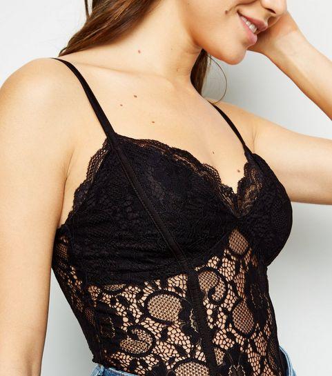 3e73f97eaf5 Bodysuits | Lace Bodysuits & Black Bodysuits | New Look