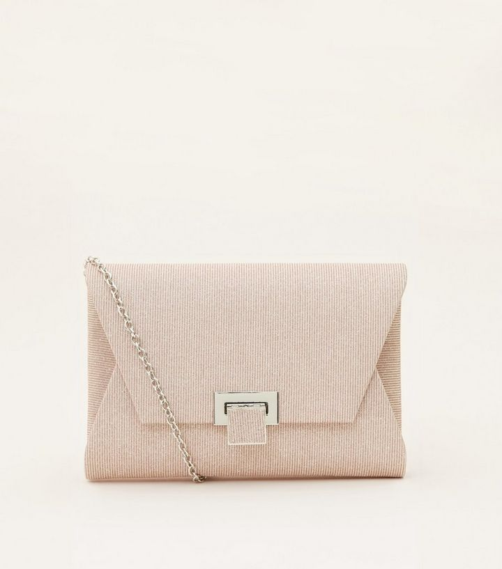 premium selection how to orders world-wide selection of Rose Gold Glitter Mesh Envelope Clutch Bag Add to Saved Items Remove from  Saved Items
