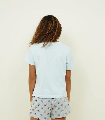 Teens Mint Green Mermaid Life Pyjama Set New Look