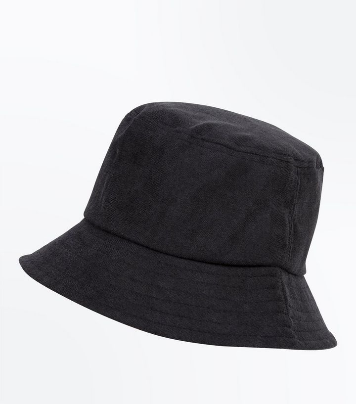 Black Bucket Hat  77612ea78a9