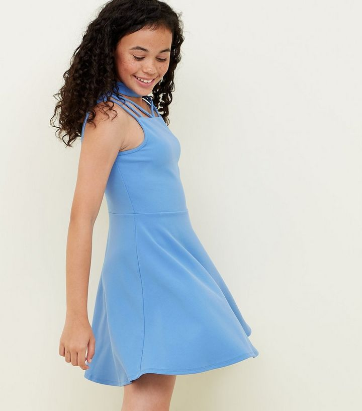 6638c79ae35 ... Strappy Scuba Skater Dress. ×. ×. ×. Shop the look
