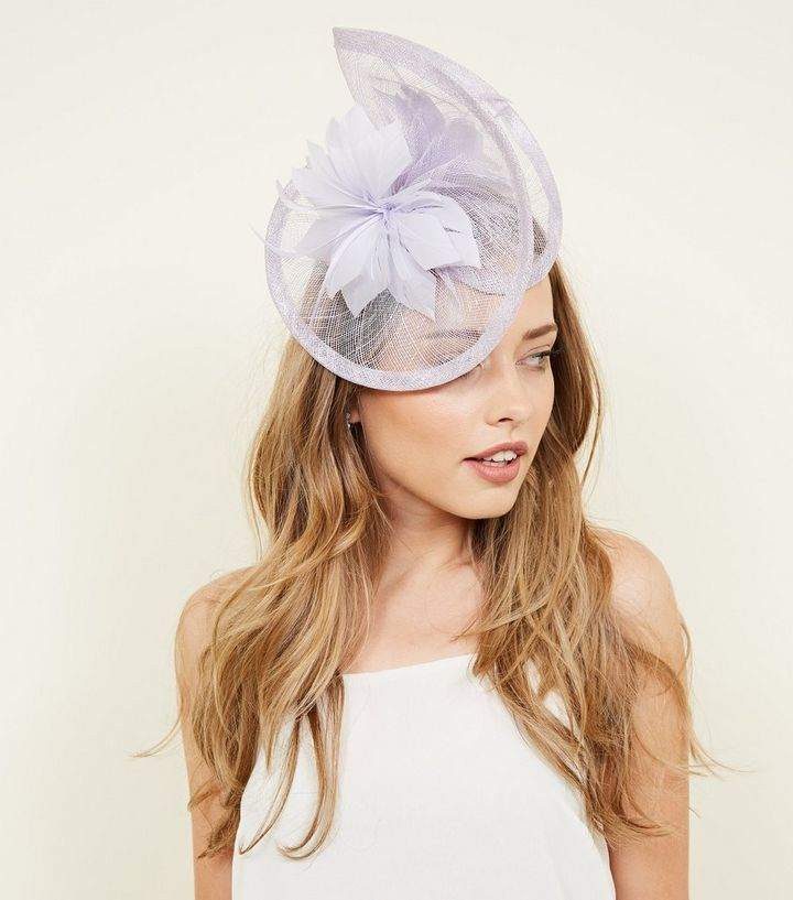 c7cb318be4c7e ... Lilac Mesh Feather Fascinator Headband. ×. ×. ×. Shop the look