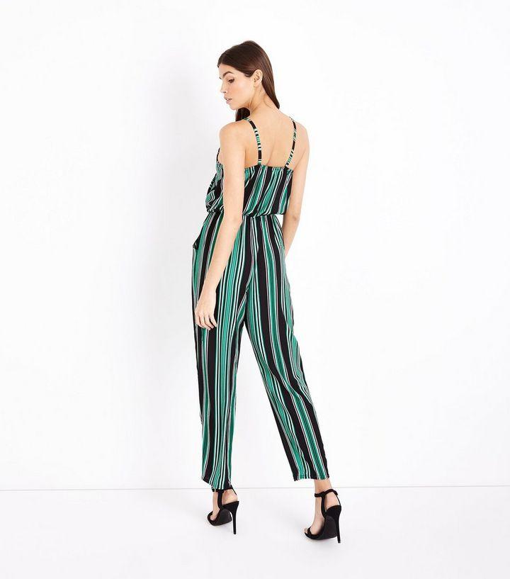 50820f5b7d1 ... Green Stripe Wrap Front Jumpsuit. ×. ×. ×. Shop the look