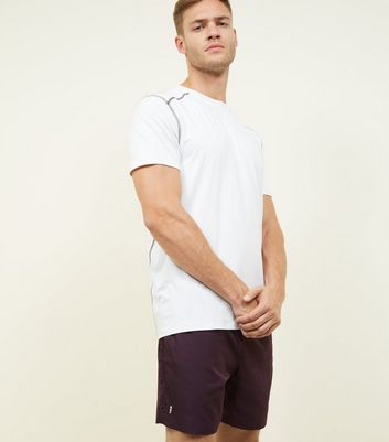 Dark Purple Running Shorts