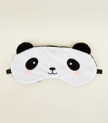Cream Panda Eye Mask