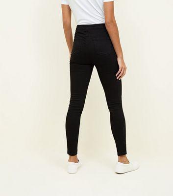 Tall Black High Waist Super Skinny Jeans New Look