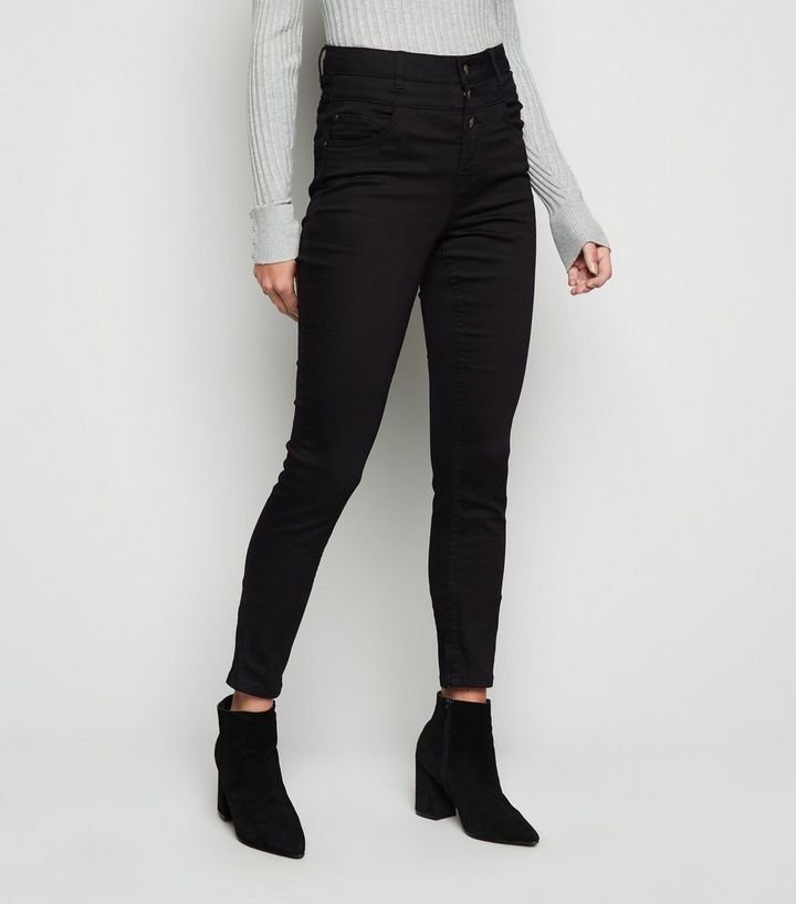 bef808b4731 ... Tall Black High Waist 3 Button Skinny Jeans. ×. ×. ×. Shop the look