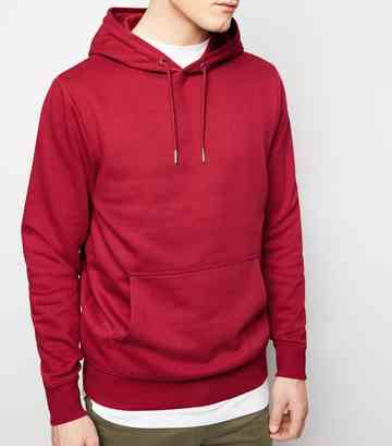 Bright Pink Pocket Front Hoodie