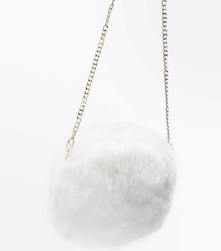 ... Women s Handbags · White Faux Fur Round Cross Body Bag. ×. ×. ×. Shop  the look b01807385c