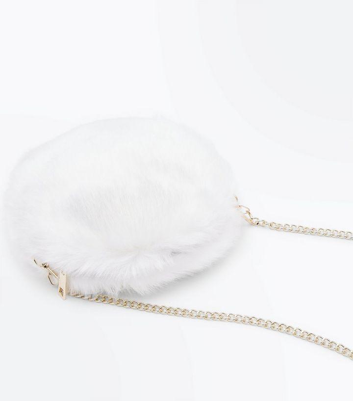 ... Handbags · White Faux Fur Round Cross Body Bag. ×. ×. ×. Shop the look cf78414f1e