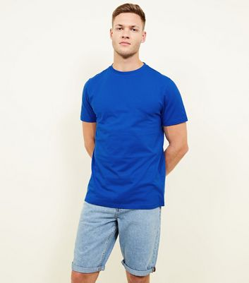 Bright Blue Crew Neck T-Shirt