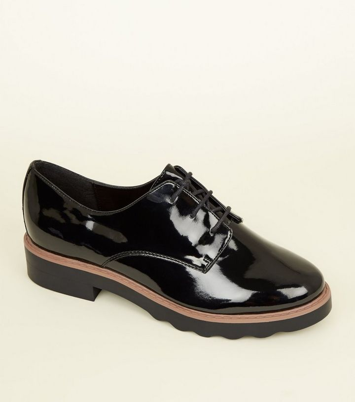 New look womens black shoes