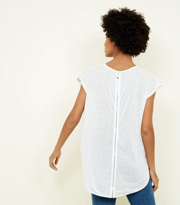 Apricot Cream Faded Floral Print T-Shirt New Look