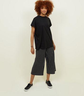 Noisy May Black High Neck T-Shirt New Look