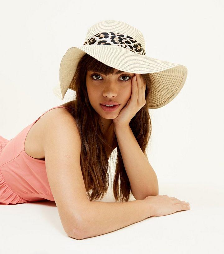 ... Dark Brown Leopard Print Tie Floppy Hat. ×. ×. ×. Shop the look 69201f62f0a