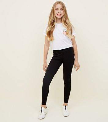 Black Leggings Girl