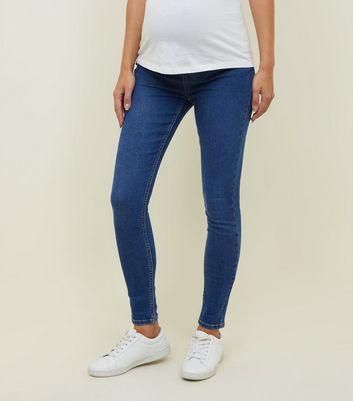 New Look Maternity Under Bump Jeggings UK 8 Regular Stretch Jeans