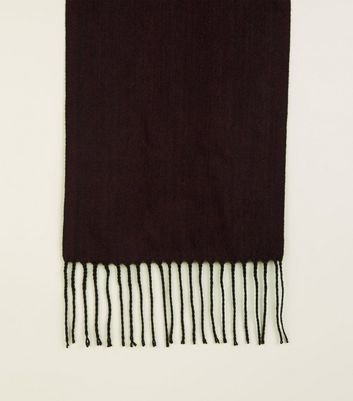 Burgundy Soft Woven Scarf
