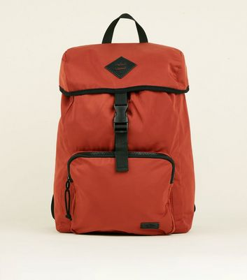 Rust Single Buckle Backpack