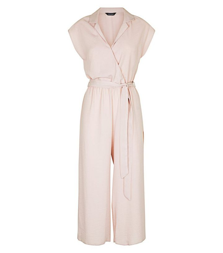 4df9eb67ca ... Pale Pink Revere Collar Jumpsuit. ×. ×. ×. Shop the look