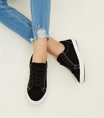 Girls' Stitch Slip On   Girls shoes