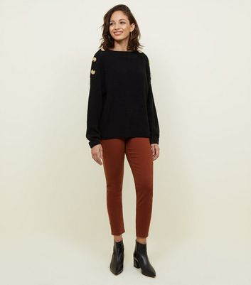 Light Rust Ankle Grazer Skinny Jenna Jeans