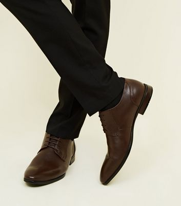 Dark Brown Embossed Shoes