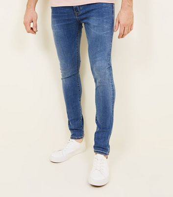 Bright Blue Stretch Skinny Jeans