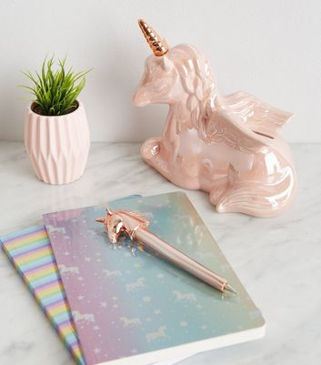 Pale Pink Unicorn Money Box
