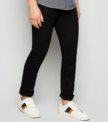 Black Stretch Slim Fit Jeans