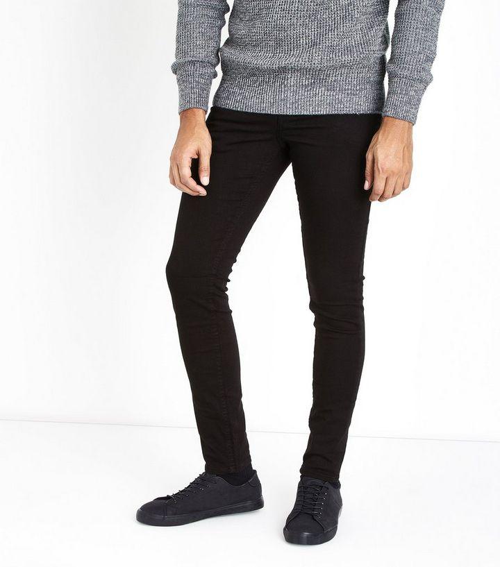7ec86a90608c Black Classic Skinny Fit Jeans   New Look