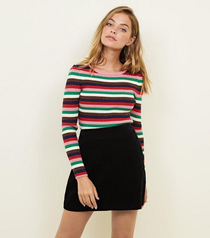 c1d7eb003c Petite Black Corduroy Mini Skirt