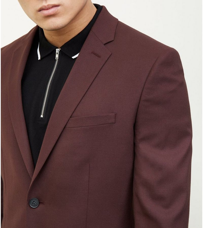 New Look - slim fit blazer - 5