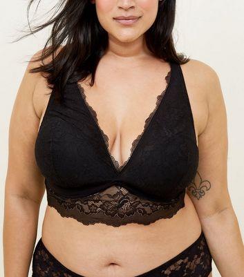 Curvy plus size lingerie curves