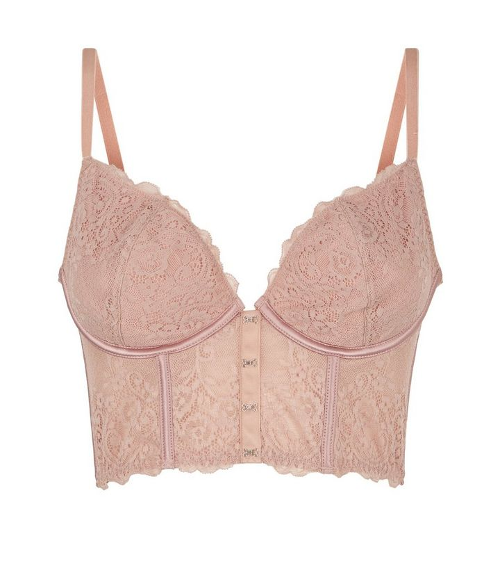 ed8c9436f0 ... Pale Pink Hook and Eye Longline Bralette. ×. ×. ×. Shop the look